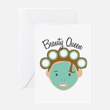 Beauty Queen Greeting Cards