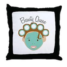 Beauty Queen Throw Pillow