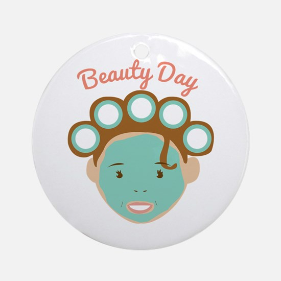 Beauty Day Ornament (Round)