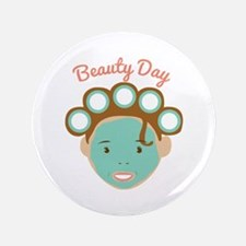 "Beauty Day 3.5"" Button"