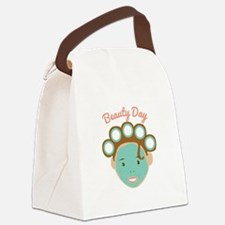 Beauty Day Canvas Lunch Bag