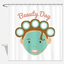 Beauty Day Shower Curtain