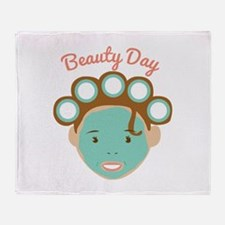 Beauty Day Throw Blanket