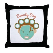 Beauty Day Throw Pillow