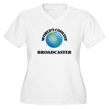 Broadcaster Plus Size T-Shirt