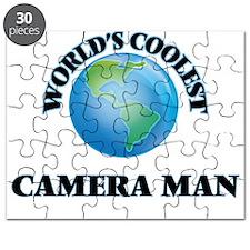 Camera Man Puzzle