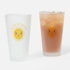 My Sunshine Drinking Glass