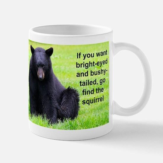 I'm Up Stewie the Alaskan Black Bear Mugs