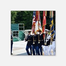 """Tomb of the Unknown Soldier Square Sticker 3"""" x 3"""""""