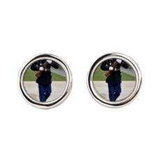 Tomb of the Unknown Soldier Round Cufflinks