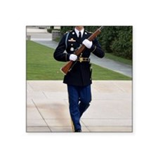 "Tomb of the Unknown Soldier Square Sticker 3"" x 3"""