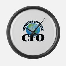 Cfo Large Wall Clock