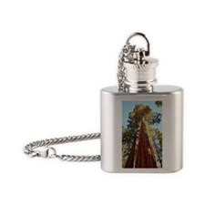 Giant redwoods Flask Necklace