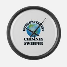 Chimney Sweeper Large Wall Clock