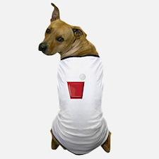 Beer Game Dog T-Shirt