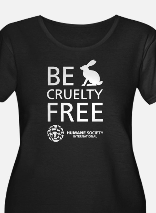Be Cruelty-Free Plus Size T-Shirt