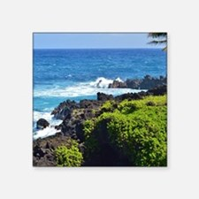 "Maui Square Sticker 3"" x 3"""