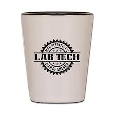MSC: Lab Tech Shot Glass