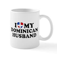 I Love My Dominican Husband Mug
