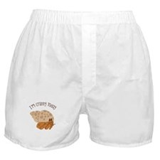 Crabby Today Boxer Shorts