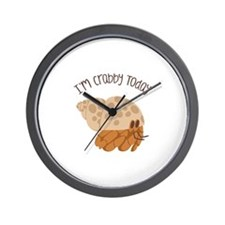Crabby Today Wall Clock