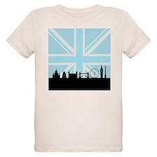 London Sites & Blue Union Jack T-Shirt