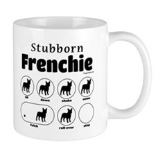 Stubborn Frenchie v2 Mug