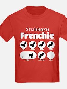Stubborn Frenchie v2 T