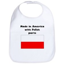 Made In America With Polish Parts Bib