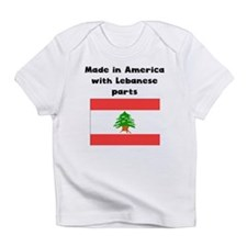 Made In America With Lebanese Parts Infant T-Shirt