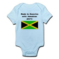 Made In America With Jamaican Parts Body Suit