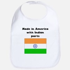 Made In America With Indian Parts Bib