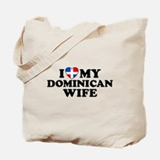 I Love My Dominican Wife Tote Bag