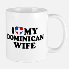 I Love My Dominican Wife Mug