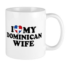 I Love My Dominican Wife Mug