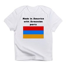 Made In America With Armenian Parts Infant T-Shirt