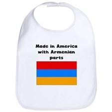 Made In America With Armenian Parts Bib