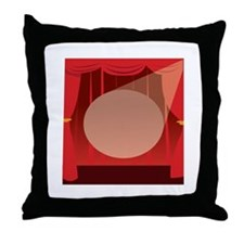 Stage Light Throw Pillow