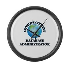 Database Administrator Large Wall Clock