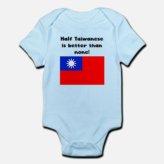 Half Taiwanese Is Better Than None Body Suit