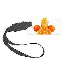 Orange juice Luggage Tag