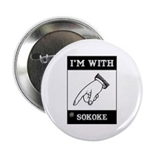 I'm With The Sokoke Button