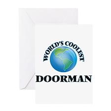Doorman Greeting Cards