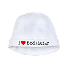 I Love Bedstefar Baby Hat