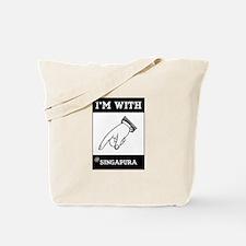 I'm With The Singapura Tote Bag