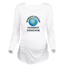 Fashion Designer Long Sleeve Maternity T-Shirt