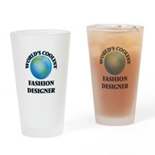 Fashion Designer Drinking Glass