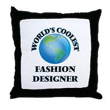Fashion Designer Throw Pillow