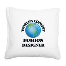 Fashion Designer Square Canvas Pillow