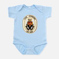 USS CUSHING Infant Creeper